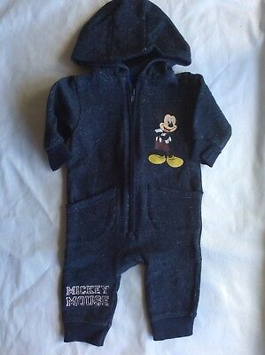 3-6 Months Boys Micky Mouse Jump Suit