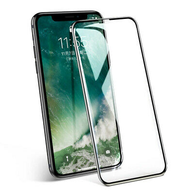 Apple iPhone X/XS/XR MAX tempered glass screen protector FULL COVERAGE AU STOCK