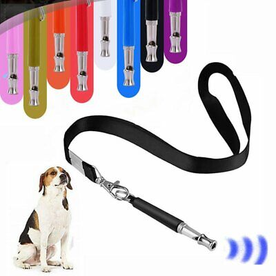 Silent Dog Whistle with Lanyard Puppy Training Ultrasonic Pitch Sound Key Chain