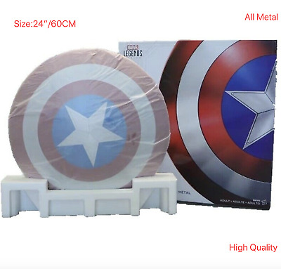 Captain America 75th Anniversary Avengers Shield Alloy Metal 1:1 Collection 2019