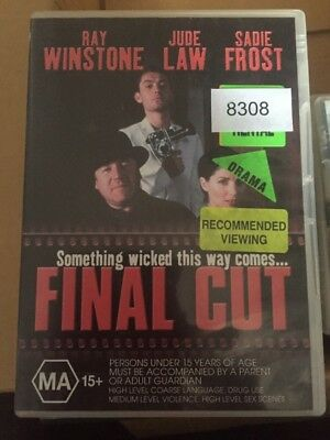 FINAL CUT (DVD, 2000) deleted out of print ray winstone jude