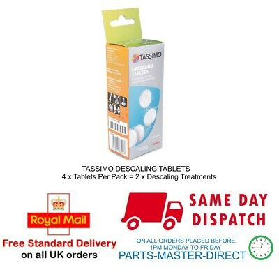 Genuine Bosch Tassimo Tcz6004 Descaling Tablets 00311530