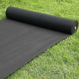 Heavy Duty Weed Control Guard Fabric Garden Outdoor Protector - 25 x 1m Roll