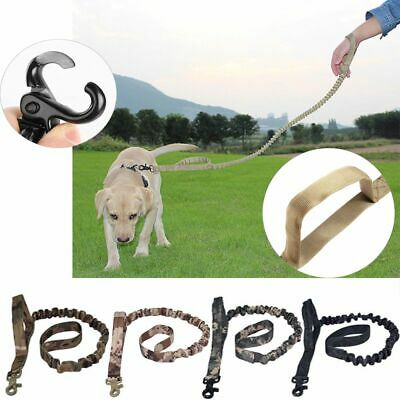 Elastic Military Pet Tactical Rope Chest Strap Dog Training Leash Adjustable