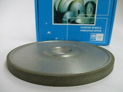 "6 inch 150x10mm. Hole 1 1/4"". Type 1A1 Straight Diamond Wheel Grinding 150 Grit"
