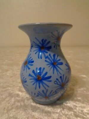 Old Ceramics / Tone Vase - Arts and Crafts - Hand Painted/Bowl - Vintage
