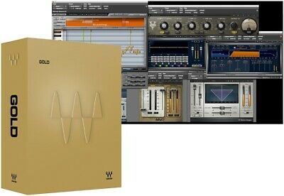 Waves Gold Bundle VST AAX Audio Software Effect Plug-in Collection eDelivery NEW