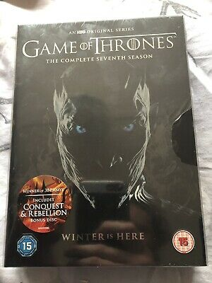 Game of Thrones The Complete Seventh Season DVD (brand New Sealed)