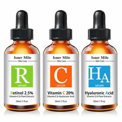 Whitening Hyaluronic Acid Skin Care Pure Vitamin C Serum Retinol Serum