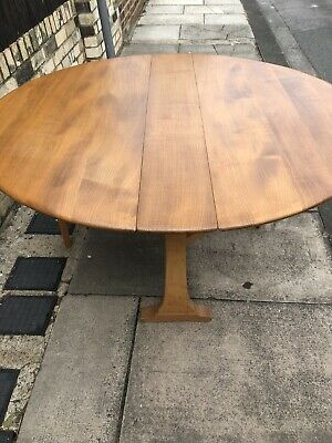 Ercol Windsor Drop Leaf Table Mid Century