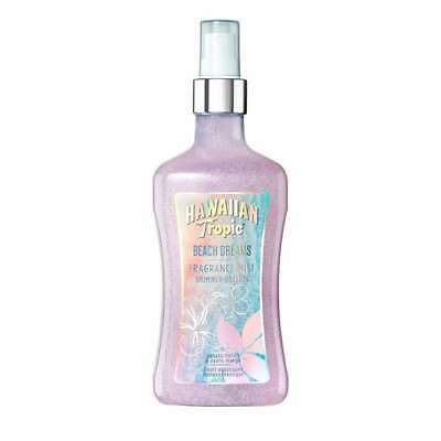 Hawaiian Tropic Beach Shimmer Edition body mist Girls Ladies Body Spray 250ml BN