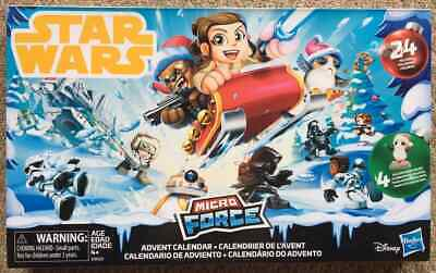 NEW Star Wars Micro Force Advent Calendar