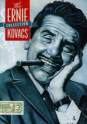 THE ERNIE KOVACS COLLECTION 6 DVD Box Set 13+ hours 44-page booklet included EXC
