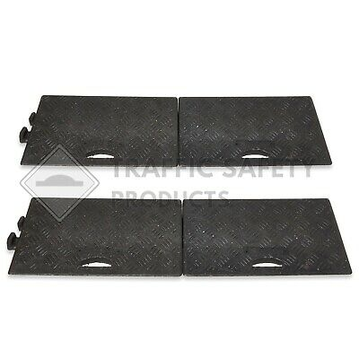 Pack of 4 - HEAVY DUTY Kerb Ramps (Perfect for HGV use) - VERY HARD WEARING