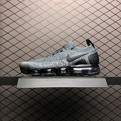 Nike Air Vapormax Flyknit 2 II Classic Gray Black men's running shoes