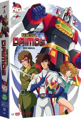 General Daimos / 11 DVD Box Set Collection / Region 2 PAL SEALED! NEW YAMATO