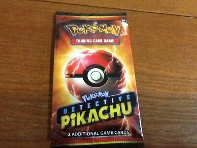 Detective Pikachu Movie 2019 Promo Card Pack SM190 Pokemon New Sealed