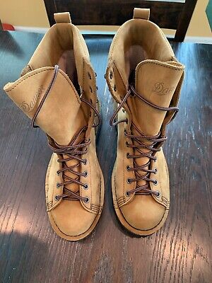 "48b33c52060 DANNER ELK HUNTER 8"" Brown Gore-Tex Mens Size 9.5 EE Made In USA."