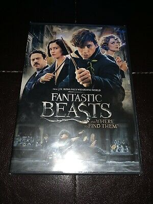 Brand New Fantastic Beasts and Where to Find Them DVD Special Edition