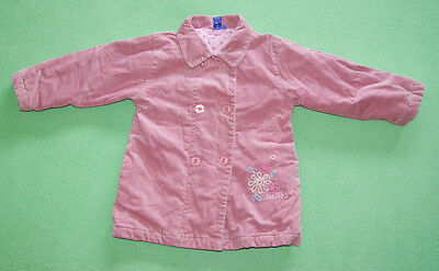 Jasper Conran powder pink elegant coat jacket for girl age 2-3 years 98cm