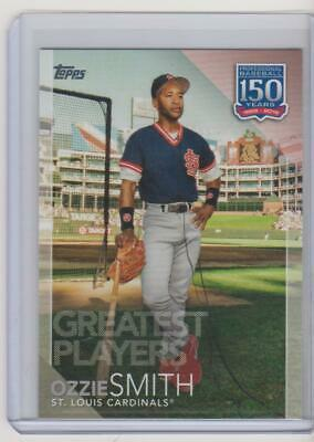 2019 Topps Series 2 Ozzie Smith 150 Years of Baseball St. Louis Cardinals