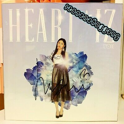 IZ*ONE IZONE Mwave Heartiz Hyewon Signed Sapphire Version