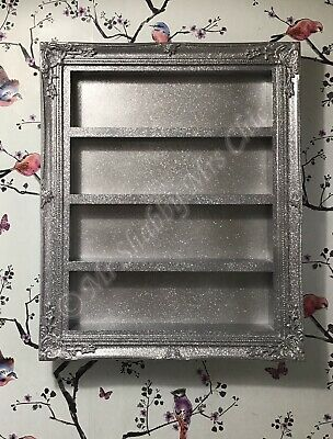 wall mounted nail polish Racks/storage Salon Shelf Retail Furniture SILVER