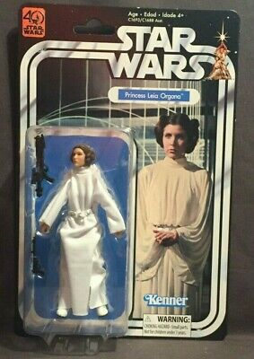 Star Wars Black Series 40th Anniversary Princess Leia 6 inch Action Figure - New