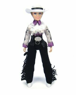 """Breyer Traditional Taylor Cowgirl - 8"""" Toy Figure (1:9 Scale)"""