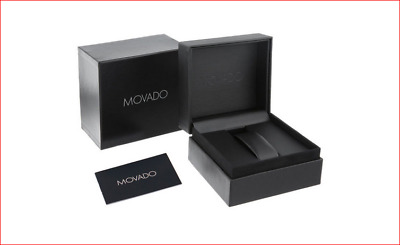 New MOVADO Watch Presentation Gift Box Set with Booklet