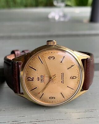 Smiths Everest Men's Automatic 25 Jewels Watch. Great Working Order!