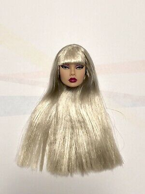 """Split Decision Poppy Parker 12"""" Fashion Royalty Integrity Silver Hair HEAD ONLY"""