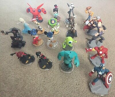 Disney Infinity Lot 1.0 Or 2.0 - U Pick - Marvel Monsters  Mickey Toy Story