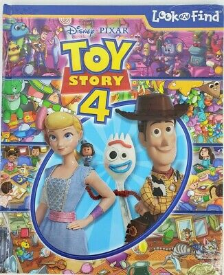 Disney Pixar - Toy Story 4 Look and Find - PI Kids (Hardcover – May 7, 2019)