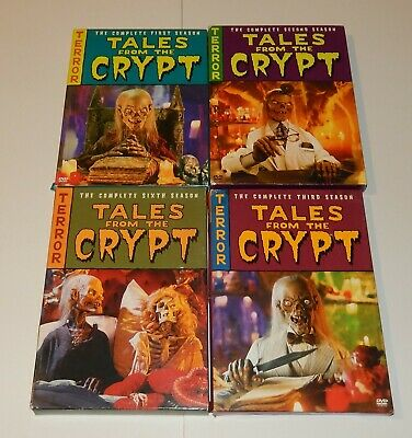 Tales From the Crypt seasons 1,2,3, and 6 DVD