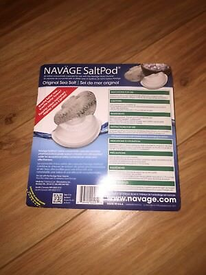 Navage Salt Pods 30CT (For Use in the Navage Nasal System) NEW & SEALED Saltpod