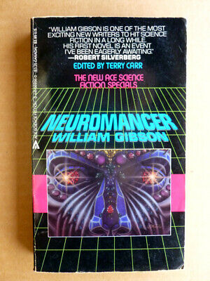 NEUROMANCER William Gibson Ace SF Specials 1984 1st printing *Beautiful copy*