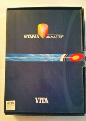 VITA Vitapan 3D-Master Tooth guide with Bleached Shade Guide.