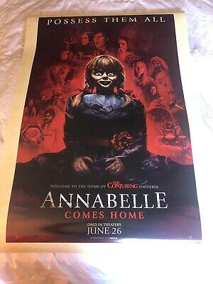 Annabelle Comes Home Theatrical Teaser Poster DS 27x40 near mint Brand New