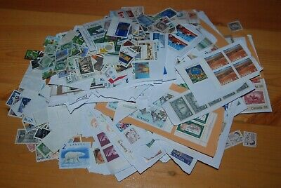 Weeda Canada Uncancelled postage on and off paper, $210.75 face values up to $2