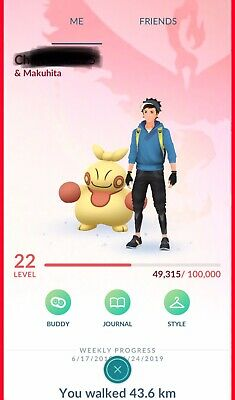 POKEMON-GO-ACCOUNT-LEVEL-33 | LOADS Of Candies | Strong