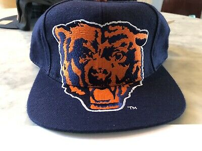 RARE CHICAGO BEARS Vintage 90s Snapback hat NEW with Tags!!! NFL supreme