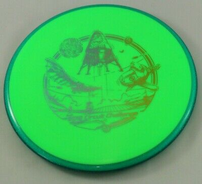 Prism Neutron Pyro 177g Mid-Range Axiom Discs Green Golf Disc at Celestial
