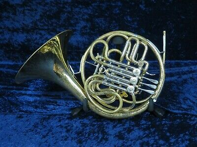 1966 ELKHART CONN 8DS (8D w/ Screw Bell) Double French Horn