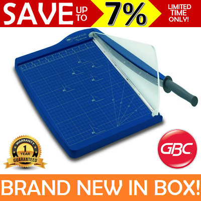 NEW IN BOX GBC A4 Office Guillotine Paper Cutter Slicer Heavy Duty Desk CL100