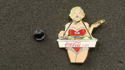 Pin's Marilyn (Marylin) Monroe, double pics, Coca Cola