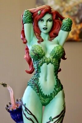 SIDESHOW POISON IVY GREEN WITH ENVY PREMIUM FORMAT 1/4 STATUE SOLDOUT! xm prime1