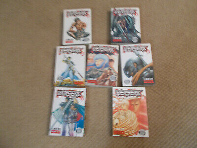 BERSERK Graphic Novels Numbers 2 to 8 by Kentaro Miura