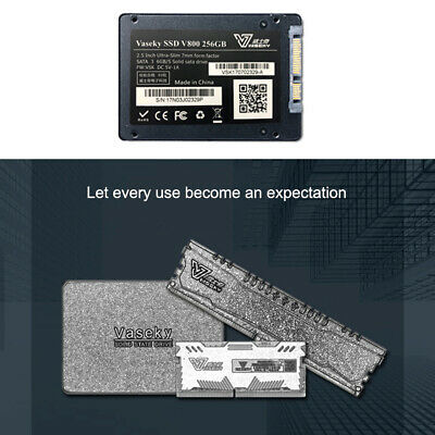 Vaseky 500G Internal Solid State Drive 2.5'' SSD SATA3 Hard Disk Laptop 6Gb/s AU