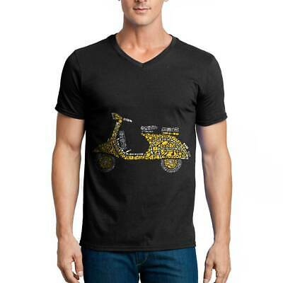 Scooter Rider Motorcycles T-Shirt Enjoy The Ride Legend Custom Racing Champ A137